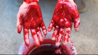 How To Make Fake Blood Recipe For Makeup!