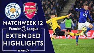 Leicester City v. Arsenal   PREMIER LEAGUE HIGHLIGHTS   11/09/19   NBC Sports