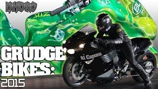 Al Capone Zx14 vs Budlight Lime nitrous grudge bike race 2015