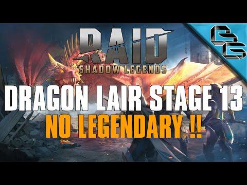 RAID: Shadow Legends | Dragon's Lair Stage 13 | F2P