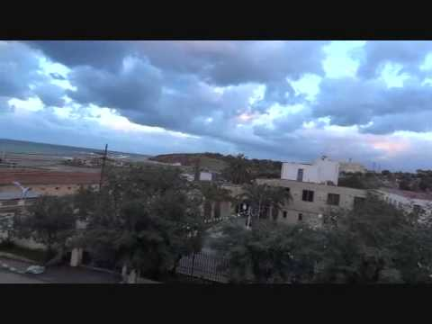 Algeria, Tipaza, Turquoise Hotel view