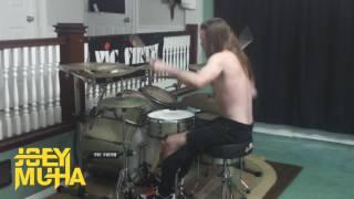 Funky Town Metal Drum Cover! - JOEY MUHA