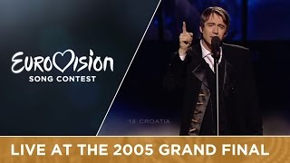 Boris Novkovic feat. Lado members - Vukovi Umiru Sami (Croatia) Live - Eurovision 2005