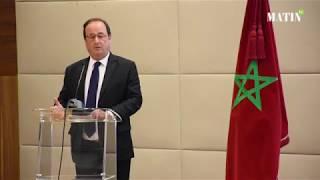 Culture, Maroc-France, immigration, terrorisme... François Hollande fait le point à Rabat