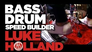 Luke Holland Bass Drum Speed - Drum Lesson