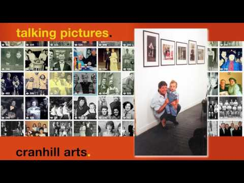 Jim and May Ward  with grandson at Cranhill Arts Gallery King Street 1995