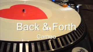 Back & Forth  Cameo