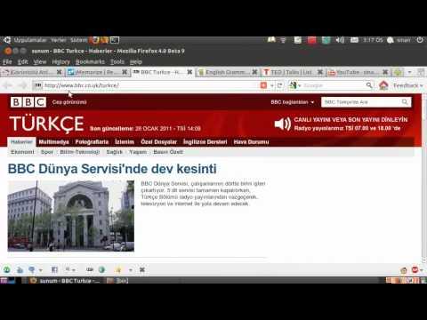 Ubuntu ile İngilizce Çalışmak