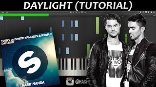 Yves V Vs Dimitri Vangelis & Wyman - Daylight (PIANO)