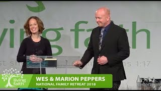 2018 NFR | The Sacred Circle Restored | Wes and Marion Peppers