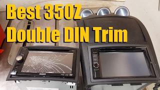 Best 350Z Double DIN Trim (2003 to 2005)