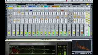 making of Deep Lark - Sentimental Crying (Cosmonaut Remix) - Ableton Live session