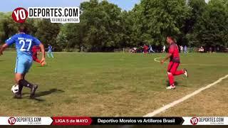 Deportivo Morelos vs Artilleros Brasil Liga 5 de Mayo