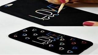 DIY: Como fazer capinha Mágica para celular