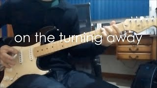 Pink Floyd - On the Turning Away - Final solo cover