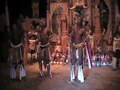 South Africa 2009- Group Dancing at Shaka Land