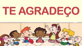 TE AGRADEÇO - Vaneyse - Música Infantil