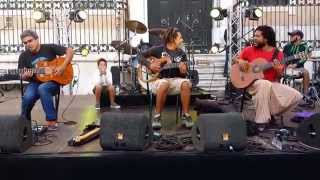 """Guitar Madness performing  """"Lisboa a Noite"""" (Letra e música: Fernando Santos, Carlos Dias)"""