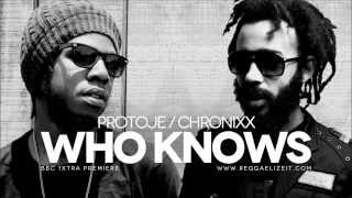 Protoje feat Chronixx - Who Knows BBC 1Xtra Premiere (Overstand Entertainment) February 2014