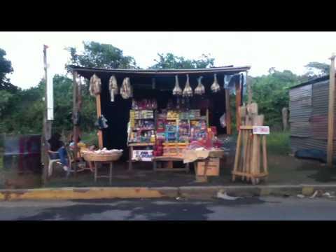 Firework stands in Masaya-Nicaragua