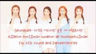 CLC (씨엘씨) - First Love (첫사랑) COLOR CODED LYRICS [HAN/ROM/ENG]