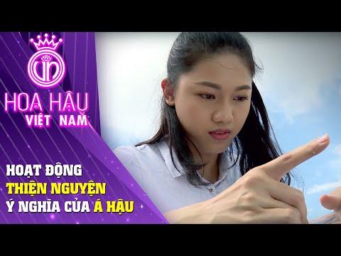 Hoa hậu Việt Nam   Hành động Thiện Nguyện vô cùng ý nghĩa của Á hậu