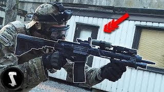 German Special Police Officer Joins a Game of Airsoft (they were not happy)