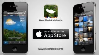 Meet Madeira Islands App for the iPhone and iPad available on the AppStore