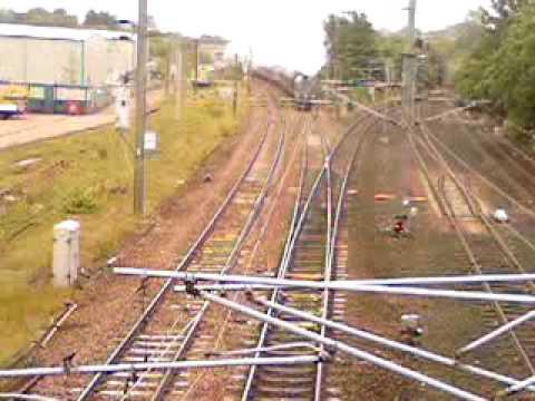 Union Of South Africa 60009 at Portobello Junction East outside Edinburgh, 27th June 2009