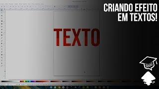 DICA Criando efeito em texto no Inkscape