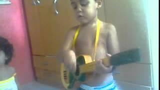 Tatu ta tocando! Luiz Praça