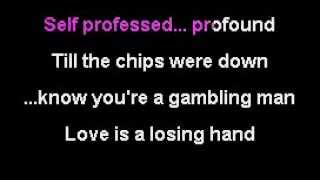 Amy Winehouse   Love Is A Losing Game karaoke