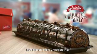 Red Ribbon Triple Chocolate Roll 15s TVC 2018 (Subtitled)