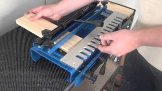 leigh isoloc hybrid dovetail templates - download video how to make inlay dovetails