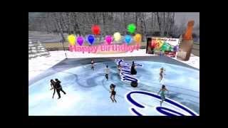 Urodziny Adusi w Luna Club w Second Life - 27 Grudnia 2013 roku.