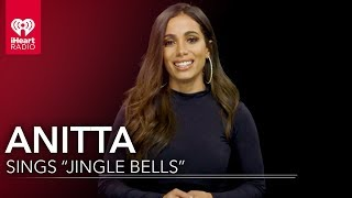 """Anitta Sings """"Jingle Bells"""" in English and Portuguese!"""