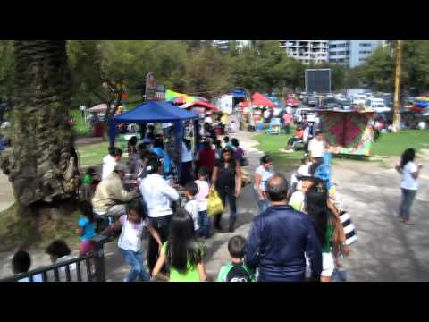 Ecuadorian Families Enjoy a Day at Parque La Carolina, Quito Ecuador