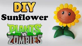 DIY: Como Fazer Sunflower de PLANTS vs. ZOMBIES | Ideias Personalizadas - DIY #diygames