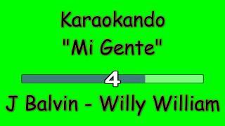 Karaoke Internazionale - Mi Gente - J Balvin - Willy William ( Letra )