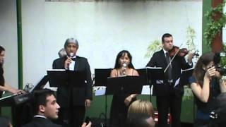 Banda Carisma - Clarinada de Mahler - Only time - Eduardo e Marilú ( Recanto Ouro Verde )