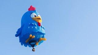 Balão Gigante da Galinha Pintadinha - OFICIAL