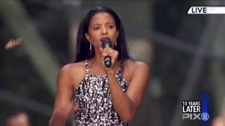 """Renée Elise Goldsberry and Brooklyn Youth Chorus perform """"Forever Young"""" 9-11 Memorial"""