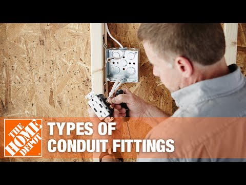 A video about different types of conduit fittings.