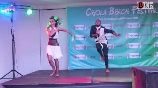 CRIOLA BEACH FESTIVAL 2015: Albir & Sara show