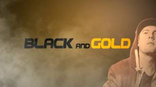 Black And Gold Studio Motion VFX intro