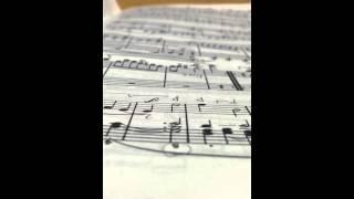 Beethoven Menuetto and Trio 3rd Mvt Sonata Op.10 No.3