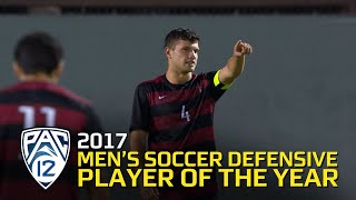 Stanford's Tomas Hilliard-Arce repeats as Pac-12 Men's Soccer Defensive Player of the Year