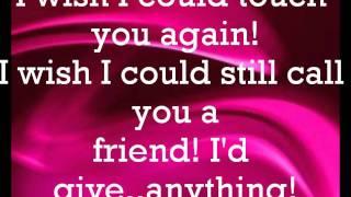 Pink: Who knew Lyrics