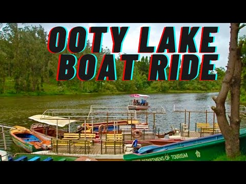 Ooty Lake and Boat House *HD*