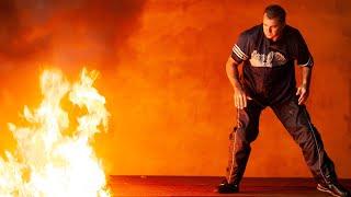 Shane McMahon throws Kane into fire: Raw, Aug. 25, 2003